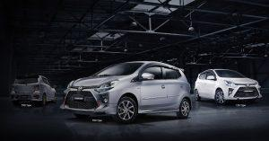 Toyota Wigo 2020 dự kiến ra bản Facelift