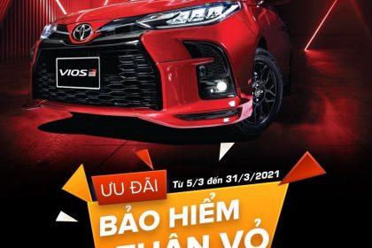 Cơ Hội Sở Hữu Toyota Vios 2021 Với Ưu Đãi Hấp Dẫn