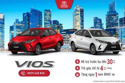 Giảm Thuế Trước Bạ Lên Đến 30tr Khi Mua Toyota Vios